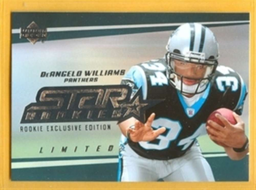 2006 Upper Deck 206 DeAngelo Williams Panthers SP Rookie Exclusive Edition Mint