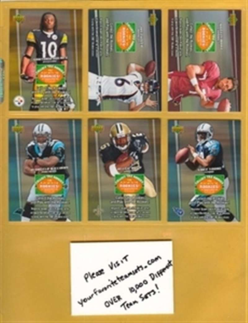 2006 Upper Deck Collect The Rookies Santonio Holmes Steelers Mint