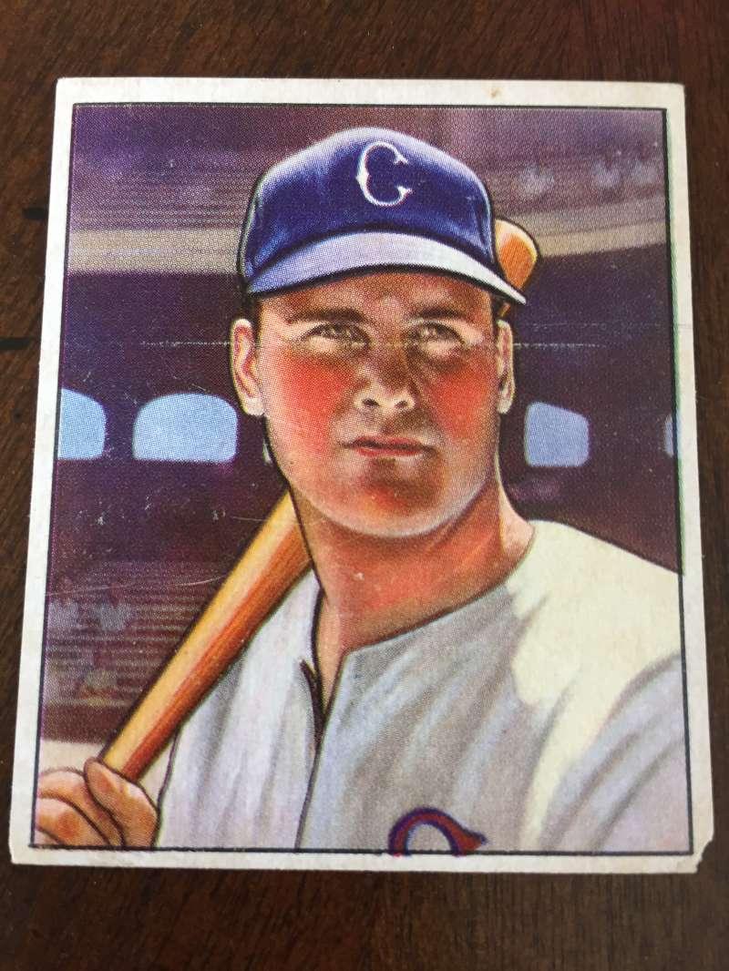 1950 Bowman #4 Gus Zernial RC VG Chicago White Sox A1