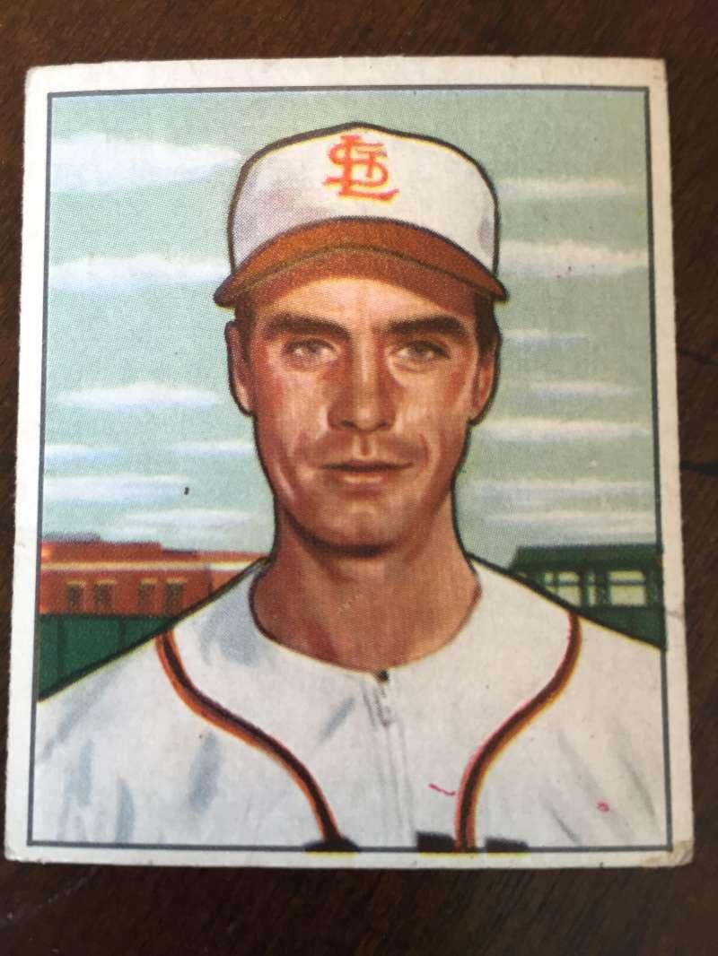 1950 Bowman #252 Billy DeMars St. Louis Browns VG A309