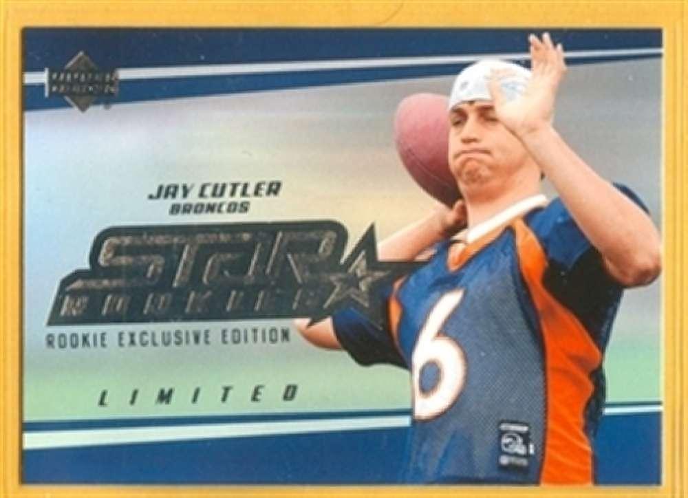 2006 Upper Deck 210 Jay Cutler Broncos SP Rookie Exclusive Edition Mint