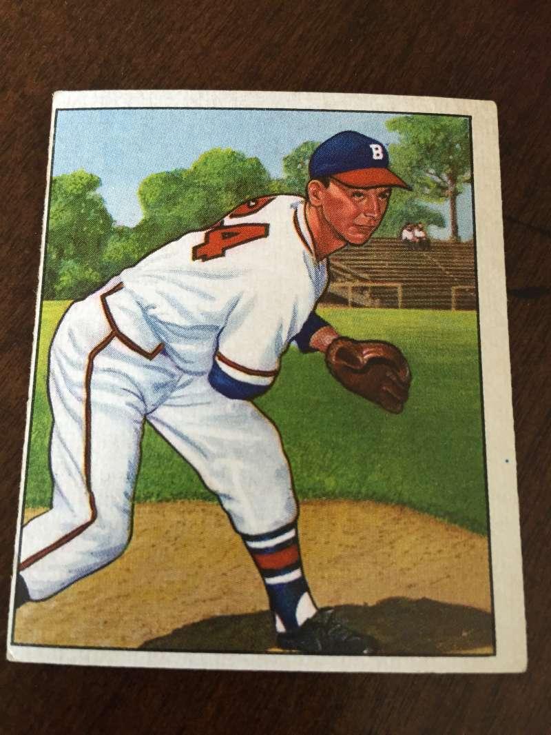 1950 Bowman #57 Vernon Bickford Braves VG A31