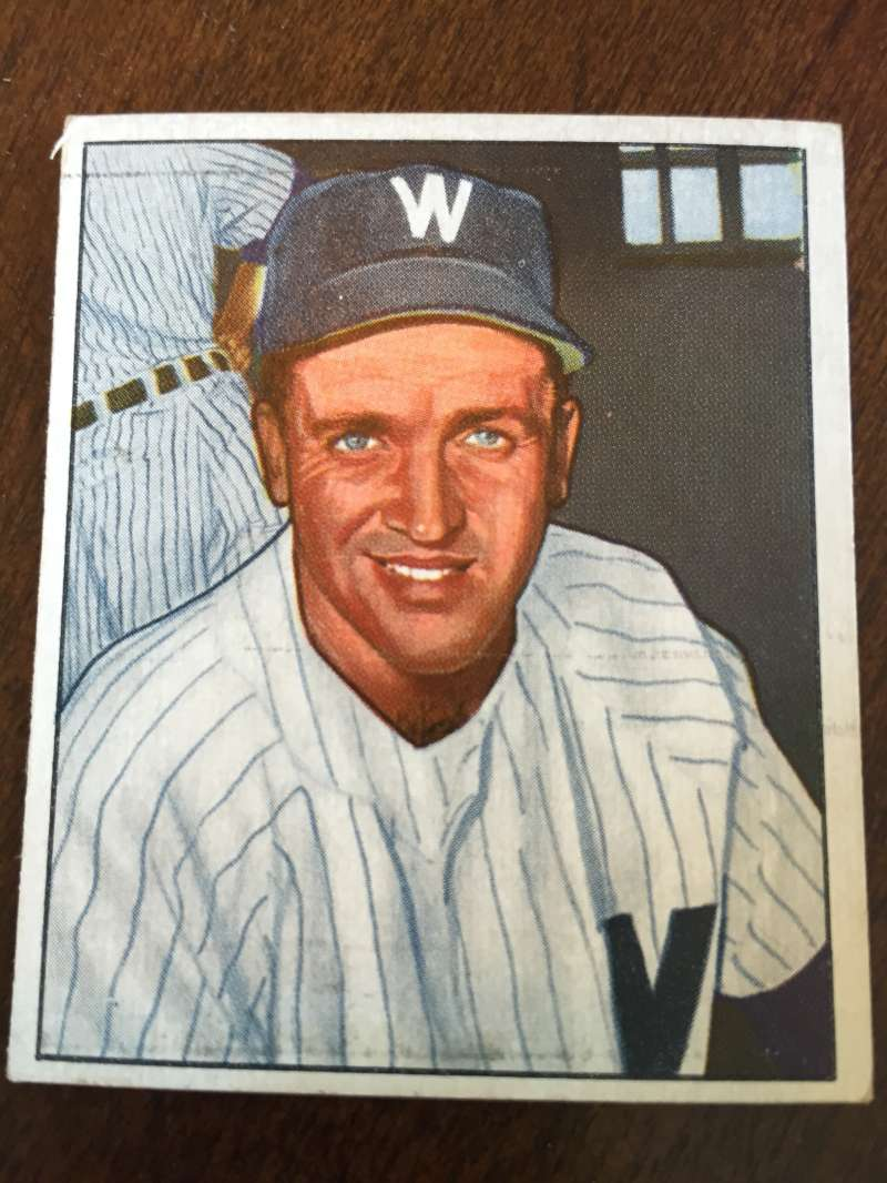 1950 Bowman #160 Mickey Harris Washington Senators EX A193