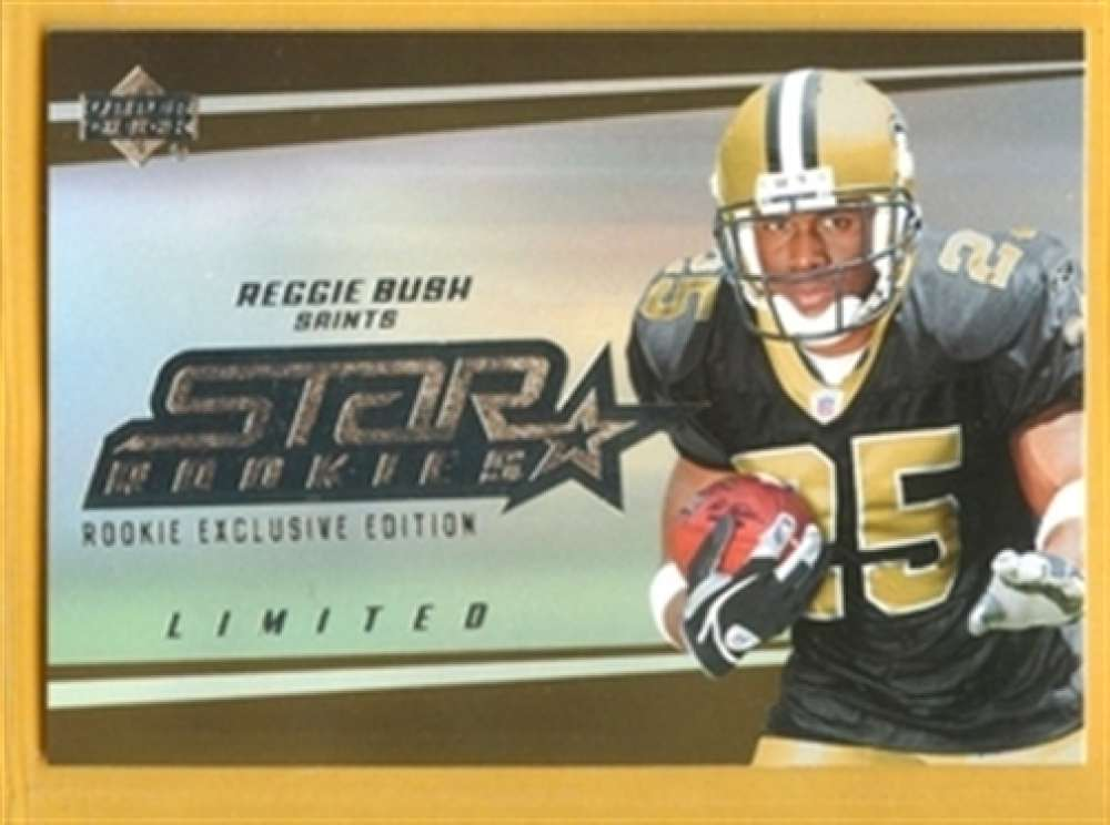 2006 Upper Deck 219 Reggie Bush Saints SP Rookie Exclusive Edition Mint