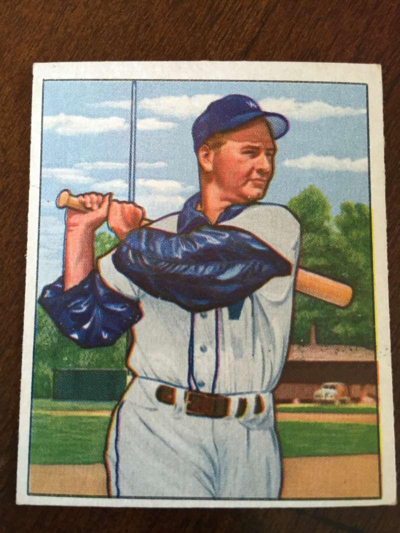 1950 Bowman #161 Sherry Robinson Washington Senators VG/EX A195