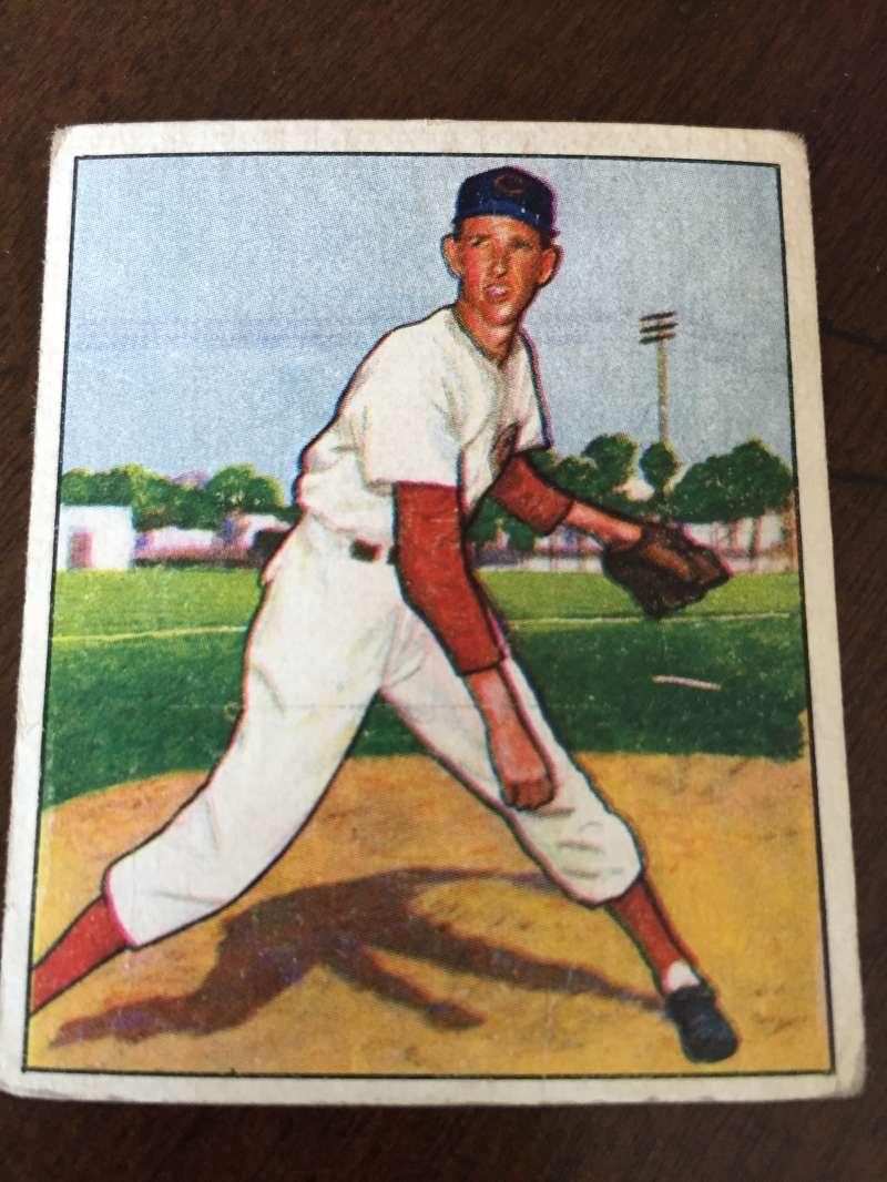 1950 BOWMAN #63 EWELL BLACKWELL Good CINCINNATI REDS A37