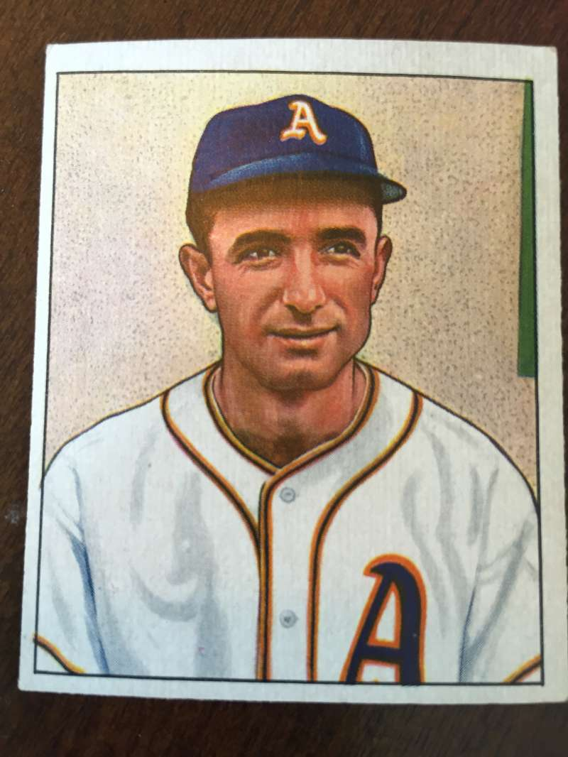 1950 Bowman #140 Pete Suder Philadelphia Athletics EX A153