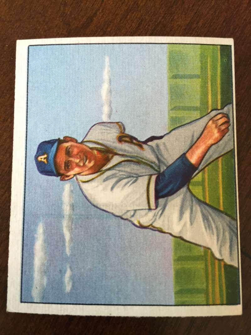 1950 Bowman #141 Joe Coleman Philadelphia Athletics VG/EX A155