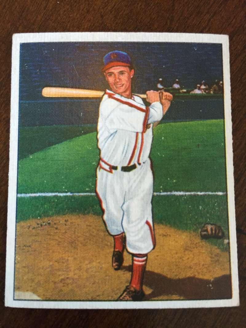 1950 Bowman #179 Charles Diering St. Louis Cardinals EX A223
