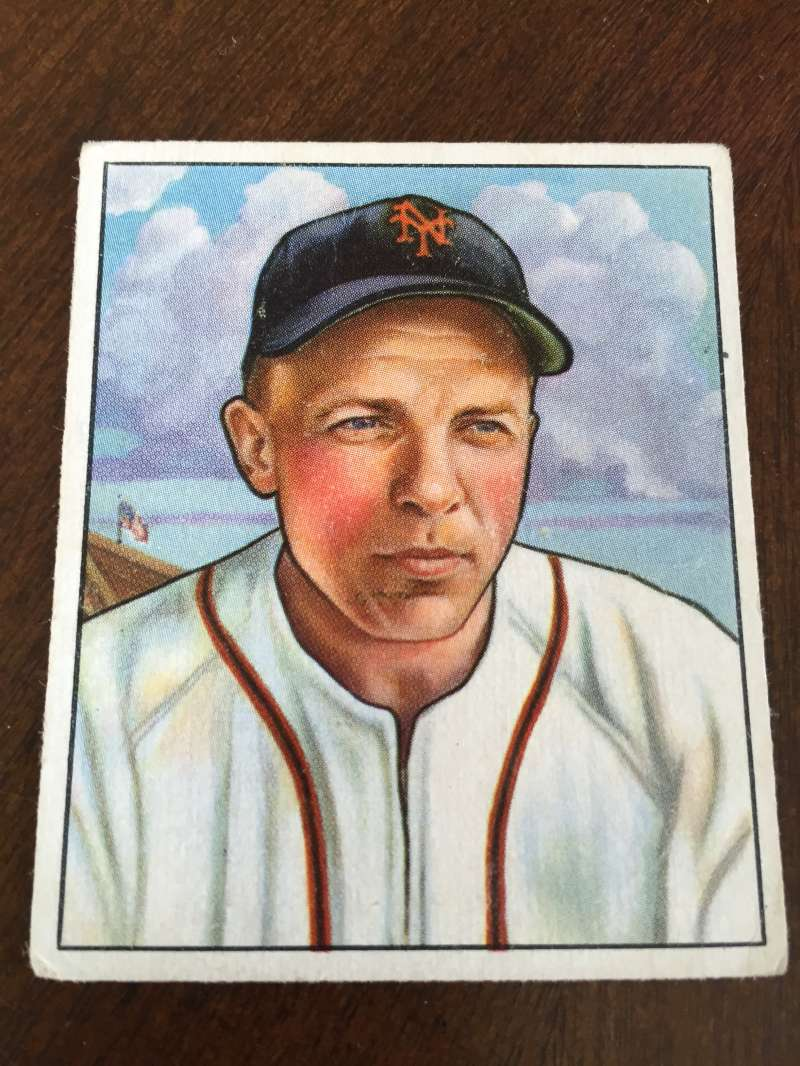 1950 BOWMAN #29 ED STANKY EX NEW YORK GIANTS A5